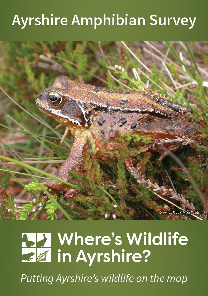 Ayrshire Amphibian Survey South West Scotland Environmental - Amphibian loss us map